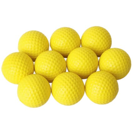 10pcs-artificial-leather-golf-ball-training-practice-soft-foam-balls-yellow_160706